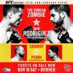 UFC Fight Night 139『Korean Zombie vs. Rodríguez』