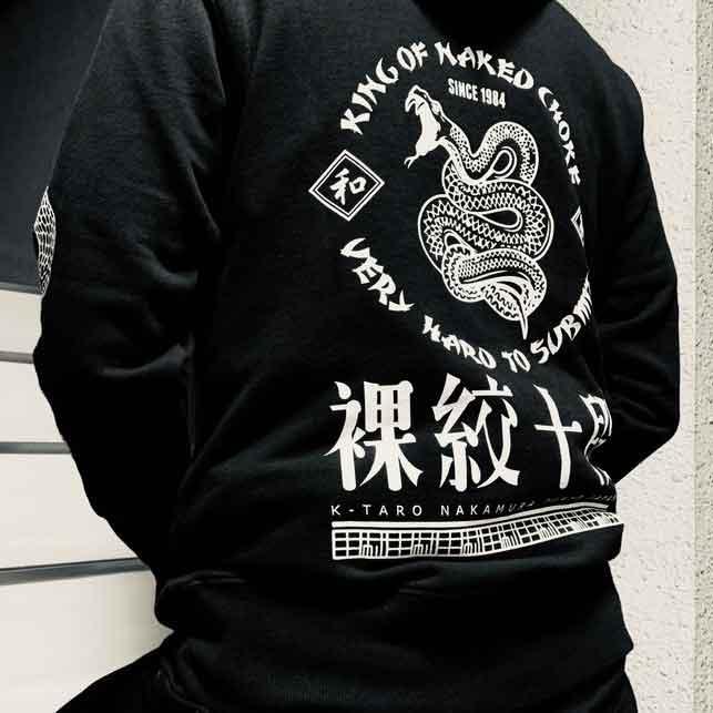 VHTS 中村K太郎 BELLATOR JAPAN スタッフ・フーディー B