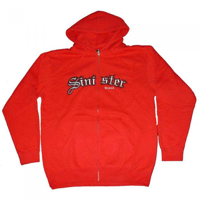 Old 'E' Applique-Zip up