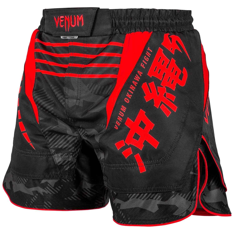 NEW VENUM MMA UFC NO GI KICKBOXING K1 SHORTS NO GI 2.0 FIGHT SHORTS BLACK//RED