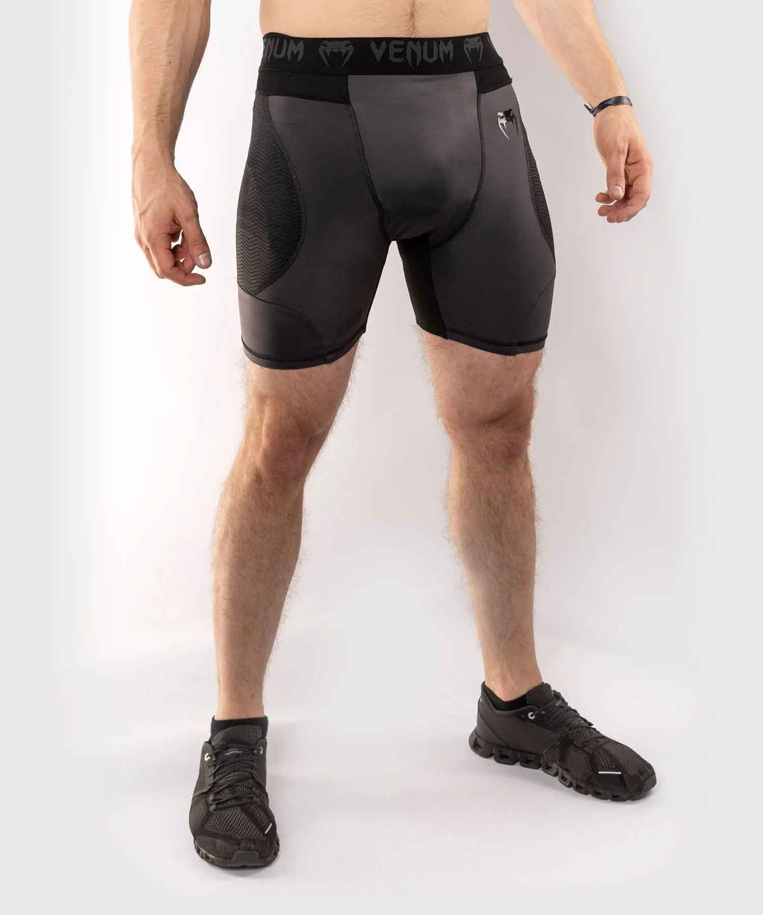G-FIT COMPRESSION SHORTS/G-フィット コンプレッションショーツ(グレー/黒)
