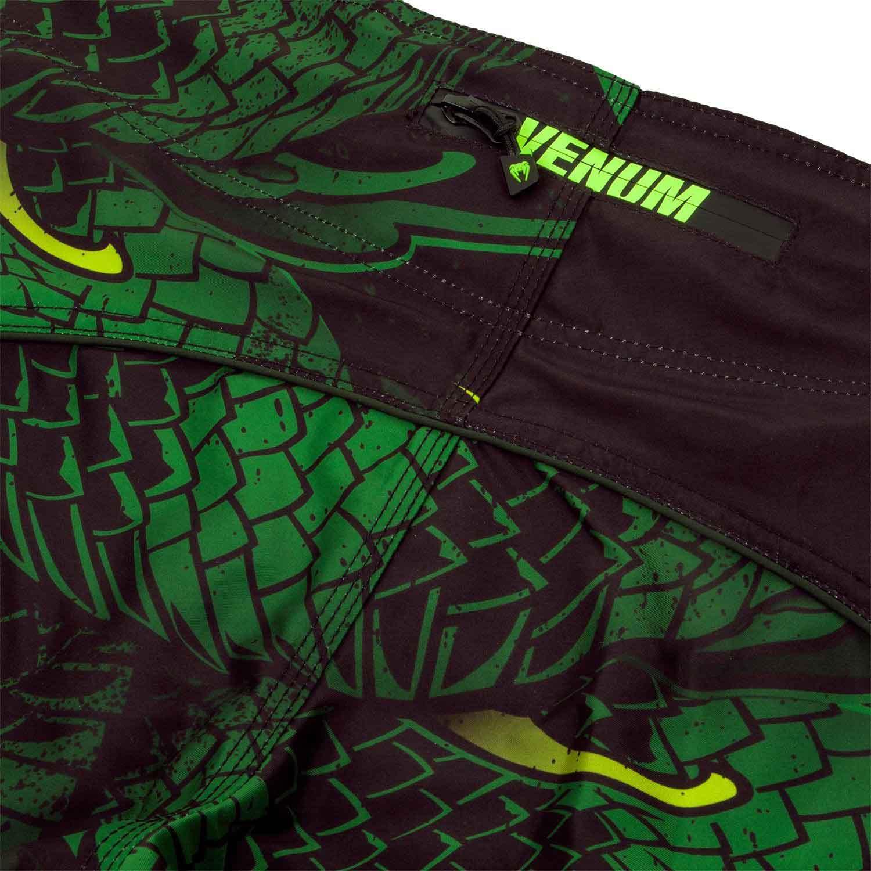 Black//Green Venum Green Viper Boxing Shorts