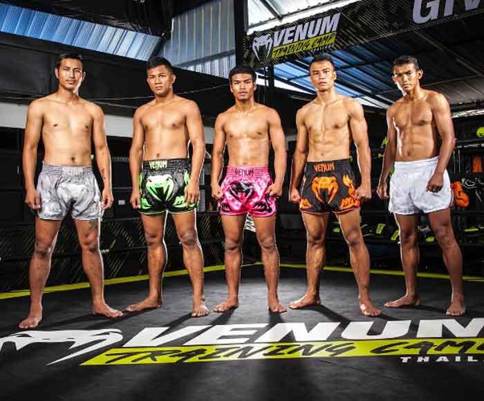 Venum Herren Bangkok Inferno Thaibox Shorts