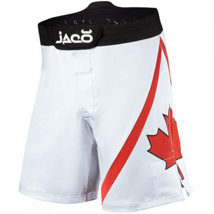 カナダ Resurgence MMA Fight Shorts(白)